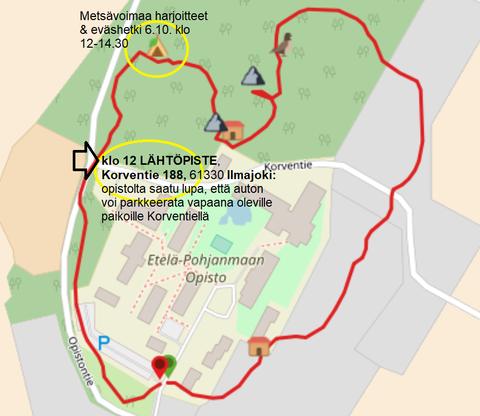 Metsävoimaa tilaisuuden kokoontumispaikka: Korventie 188, 61330 Ilmajoki